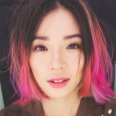 We Got Korean Model Irene Kim to Spill Her Beauty Secrets (Spoiler Alert: They Rock) Irene Kim, Ombré Hair, Hair Day, Cabelo Ombre Hair, Pinterest Hair, Rainbow Hair, Beauty Secrets, Beauty Tricks, Pink Hair