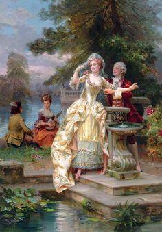 Итальянский художник Cesare Augusto Detti (1847-1914). Обсуждение на LiveInternet - Российский Сервис Онлайн-Дневников