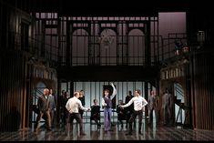 Hamlet. Yale Repertory Theatre. Meredith Ries scenic design.