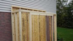 Lean To Shed (3x8') - Imgur Lean To Shed Plans, Diy Shed Plans, Diy Wooden Projects, Wooden Diy, Building A Shed Roof, Shed Interior, Cheap Sheds, Diy Storage Shed, Gardens