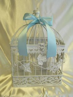 Decorative Birdcage / Shabby Chic Birdcage / by SouthburyTreasures, $45.00