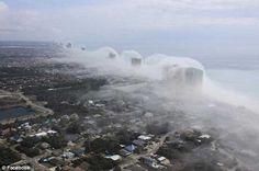 Ancora Tsunami di nuvole a Panama City