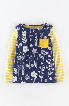 Mini Boden 'Hotchpotch' Tee (Toddler Girls, Little Girls & Big Girls) available at #Nordstrom