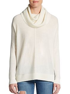 wool cashmere cowlneck side slit sweater... also comes in black!  {on sale + extra 40% off with code FRIENDS}