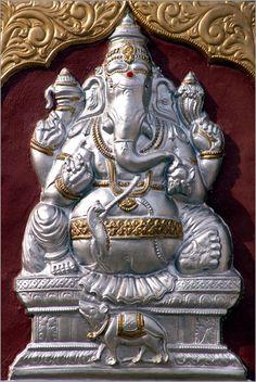 Shri Ganesh! Hindu Gott Lord Ganesha Bilder: Poster von Olaf Protze bei Posterlounge.de