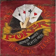 Old poker ad