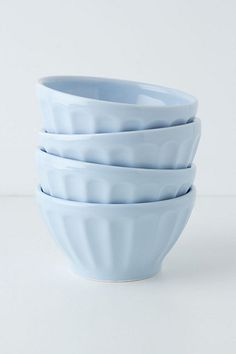 Anthropologie Latte Bowls ($20 for set of 4)