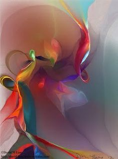 minga2glo:    (via Ars Gratia Artis)  Mixed Emotions by artist David Lane  Just love the colors and complexity of this piece