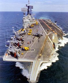 Royal Navy, the Audacious-class aircraft carrier HMS Ark Royal (R09), Britain's final conventional catapult and arrested-landing carrier to ever see service, a concept they pioneered.