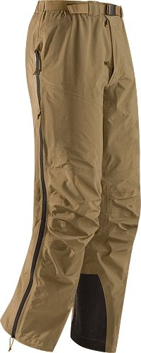 Like I could ever afford an Arc'Teryx wardrobe!  Alpha Pant Men's Lightweight, rugged four-season GORE-TEX pant, designed for high output activity.