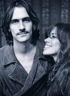 James Taylor and Carley Simon, 1972 by Peter Dimon