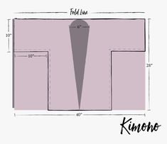 Kimono Sewing Pattern, Pattern Drafting, Sewing Patterns Free, Free Sewing, Make Your Own Clothes, Diy Clothes, Kimono Shrug, Thick Girl Fashion, Kimono Design