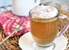 Homemade pumpkin spice latte (for when you can't make it to Starbucks!)