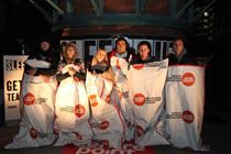 Sleep Out for Centrepoint takes place on Thurs 8 Nov - 850 sleepers in London and Durham + Tim Vine, Eliza Doolittle, Sara Cox and more. We aim to raise £250,000 for homeless young people.