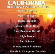 """They want us to be """"The United States of California""""!!!!!!"""