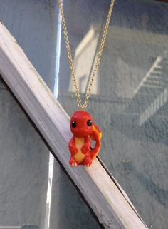 Charmander Handmade Clay Charm  Certificate of by PokemonCharms Pokemon Charmander, Cute Pokemon, Clay Charms, Clay Ideas, Clay Projects, Fundraising, Minis, Biscuit, Certificate