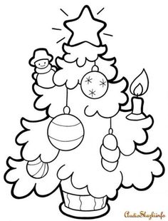 Holiday Coloring Sheets to Print Lovely Christmas Tree Coloring Pages for Childrens Printable for Free
