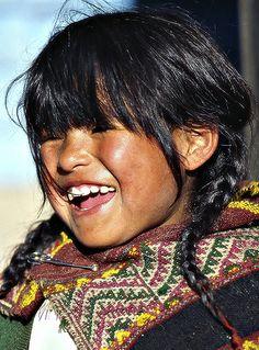 Peruvian smile...... by Sergio Pessolano, via Flickr