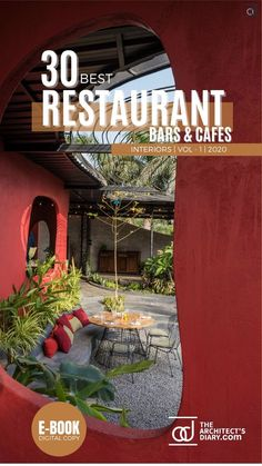 30 Best Restaurant Interior design in India is a collection of amazing Restaurant + Cafes + Bars design around the country, with this E-Book we believe to provide design inspiration to the readers. Also, the e.book is a well-curated design from the most innovative and established design firms. Restaurant Interior Design, Cafe Interior, Cafe Bar, Design Firms, Restaurant Bar, Design Inspiration, India, Country, Amazing