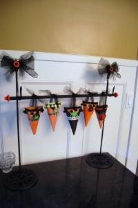 DIY Halloween : DIY Halloween Party Favor Display Idea