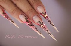 ACRILIC PAINTING by muci5 from Nail Art Gallery