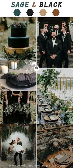 Top 13 Wedding Color Palettes to Warm Your Winter Emerald Wedding Colors, Emerald Green Weddings, Winter Wedding Colors, Mauve Wedding, July Wedding Colors, Champagne Wedding Colors, Winter Bride, Black Wedding Themes, Wedding Color Schemes
