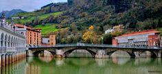 Tolosa - Puente y Río Oria
