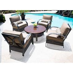 13 great patio furniture images outdoors outdoor life outdoor living rh pinterest com