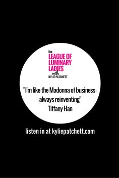 """#Luminaryladies #podcast Ep:013 - How Tiffany recently gave her business a """"pixie cut"""" aka a short and sexy rebrand - what Karoake and Madonna's black lace gloves have got to do with Tiffany's business philosophy -fear of being seen, doing the right thing and getting comfortable not meeting your family's expectations"""