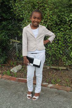 Fierce little fashionista