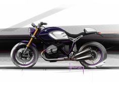 BMW R nineT - Design Sketch