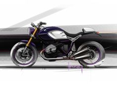 BMW R nineT - Design Sketch
