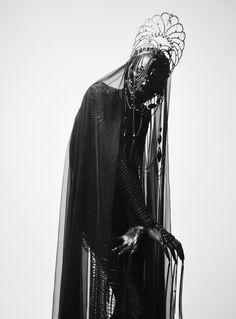NIghtmares, Fear, Paranoia, Veils, Faceless Masks, Spiders, Webs, Black, Purple