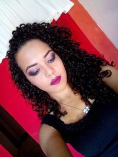 Maquiagem rose simples