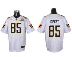 NFL Jersey's Girls Youth Cincinnati Bengals Tyler Eifert Nike Black Game Jersey