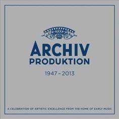 Various - Archiv Produktion: Early Music Studio Of Deutsche Grammophon 1947-2013