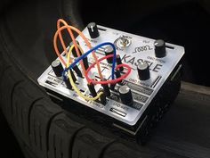 """Created by Bastl Instruments, Kastle is a pocket-sized, open-source synth that runs on three AA batteries. Although designed to be """"DIY… Tape Echo, Teenage Engineering, Analog Synth, Recording Equipment, Drum Machine, Electronic Media, Open Source, Euro, Electronics"""