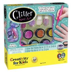 Creativity For Kids Glitter Art Nail Art