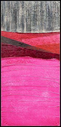Arte Original acrílico mixta abstracto pintura por MAUSART en Etsy