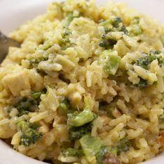 Chicken, Broccoli and Rice Casserole
