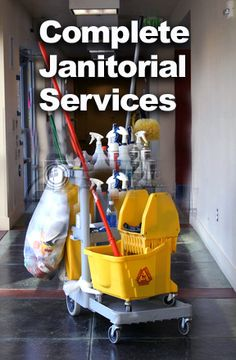 Contact us janitorial services!