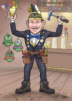 Adjudant Moesland - De Karikaturist