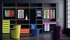 Personaliza con color el interior de tu armario. #armarios  #personalizados @mueblesjjp