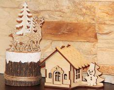 Drewniane dekoracje ✨⛄🎄  wycinane laserowo mogą cieszyć naturalnym pięknem lub ozdobione dowolną metodą stać się jedyną w swoim rodzaju pamiątką wyjątkowych chwil.   #dekoracjeświąteczne #Bożenarodzenie #Święta #Christams