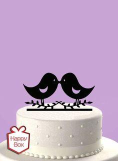 Adorno Para Torta Casamiento Nido De Amor Cake Topper Boda - $ 150,00 en MercadoLibre
