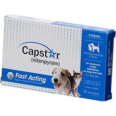 Capstar Flea Tablets for Dogs and Cats 225 lbs * You can get more details by clicking on the image. (This is an affiliate link) #dogfleasandtickcontrol