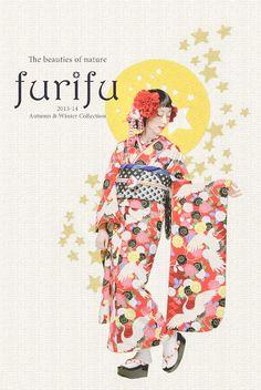kawaii kimono : furifu 2013-14 A/W