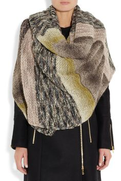 Missoni | Chunky-knit shawl | NET-A-PORTER.COM