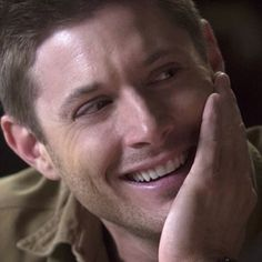 Love me some Dean smiles! Live Love, Love You All, Sam And Dean Winchester, Supernatural Dean, Under My Skin, How To Apologize, Many Faces, Girls World, Jensen Ackles