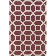 artistic weavers arise evie handtufted maroon area rug youu0027ll love